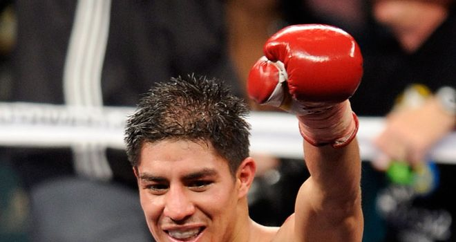 Bright lights: Vargas has a big future ahead of him, says Wayne, if he works hard