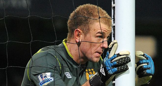 Joe Hart: Tipped as a future England captain by Gareth Barry and James Milner