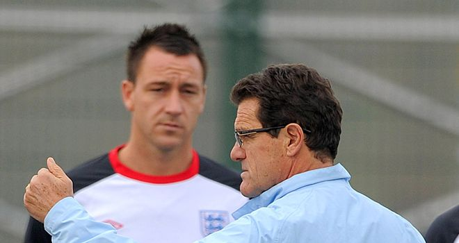 Fabio Capello: England boss has been backed by Chelsea coach Andre Villas-Boas in John Terry row