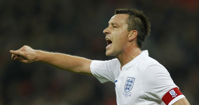 John Terry: Happy to play alongside anyone for England