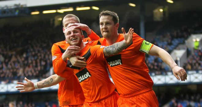 Johnny Russell: Wants to keep learning with Dundee United