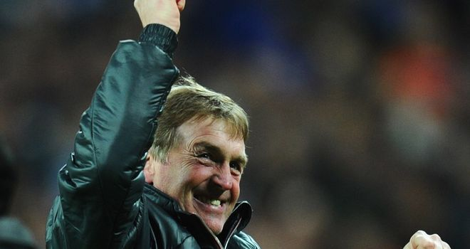 Kenny Dalglish: Liverpool's manager is waiting on the fitness of Craig Bellamy