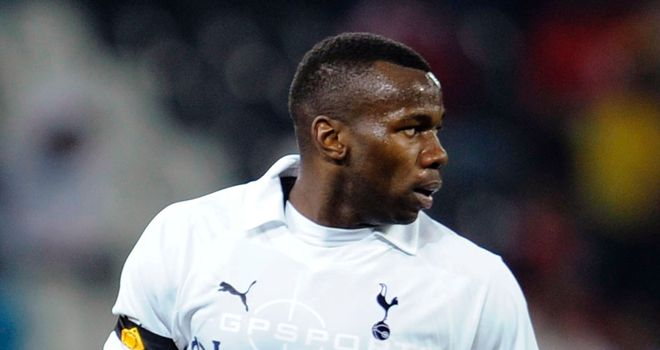 Bongani Khumalo: Tottenham defender has joined PAOK on a season-long loan deal