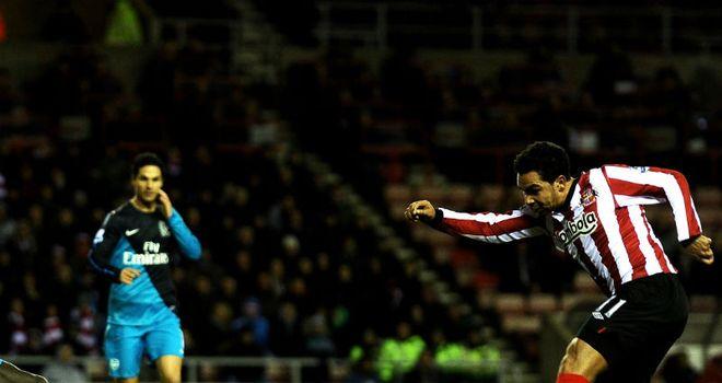 Kieran Richardson fires home Sunderland's opening goal
