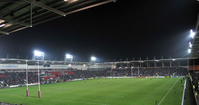 England Knights will take on Ireland at Langtree Park