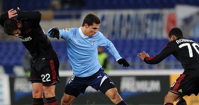 Hernanes: Lazio midfielder has dismissed talk of a summer move after being linked with other clubs