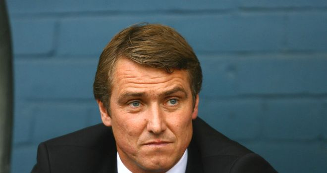 Lee Clark: Has promised to entertain the Birmingham fans following his appointment as new Blues manager