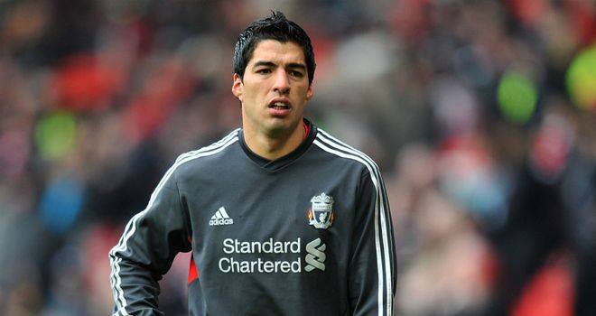 Luis Suarez: Joined Liverpool from Dutch giants Ajax last winter