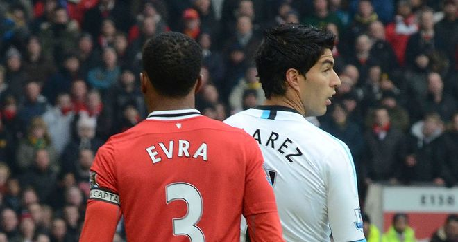 Luis Suarez: Striker has now apologised for his failure to shake Patrice Evra's hand at Old Trafford