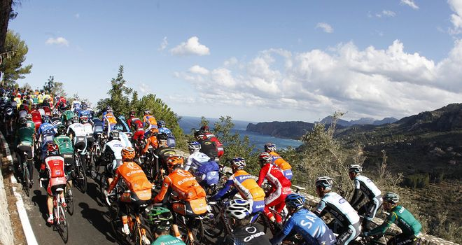 Challenge Mallorca: The majority of UCI WorldTour teams have sent riders to the Spanish island