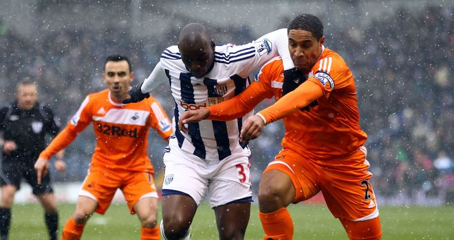 Marc-Antoine Fortune: Regained his place back in the West Brom starting line-up