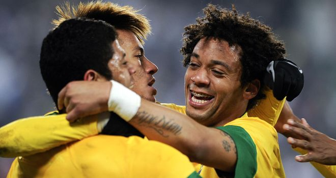 Marcelo: Opened the scoring as Brazil picked up a hard-fought win