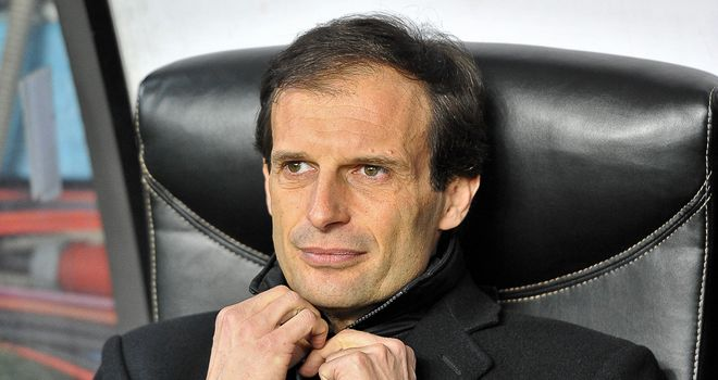 Massimiliano Allegri: Milan boss puts focus on Genoa clash