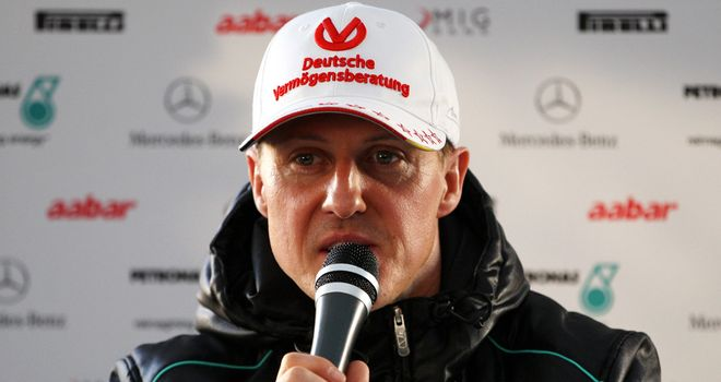 Michael Schumacher: looking forward to season-opener in Melbourne