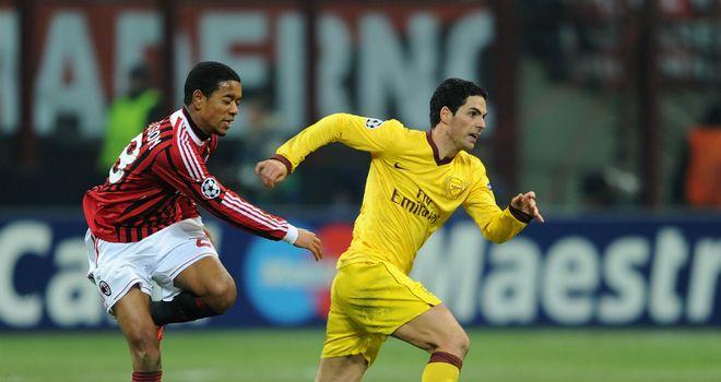 Mikel Arteta: Saw Arsenal humbled in the San Siro