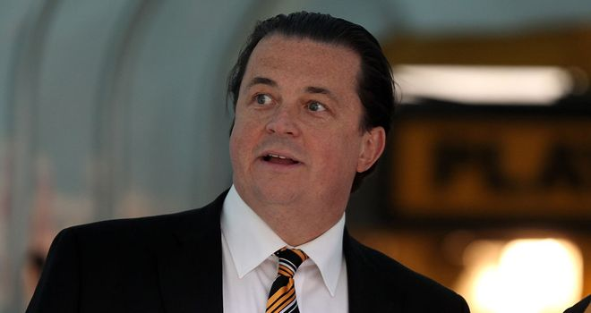 Jez Moxey: Hoping Wolves can announce new manager next week