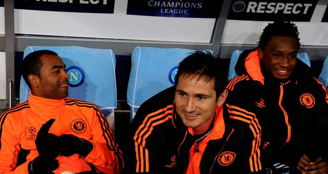 Ashley Cole and Frank Lampard: Rafa Benitez expects the pair to leave Chelsea