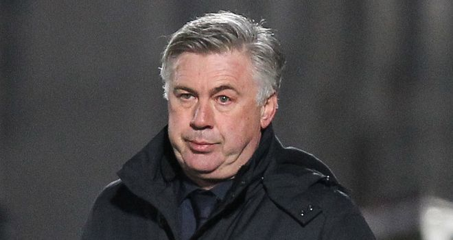 Carlo Ancelotti: Looking to strengthen his squad with a defender, a midfielder and a striker