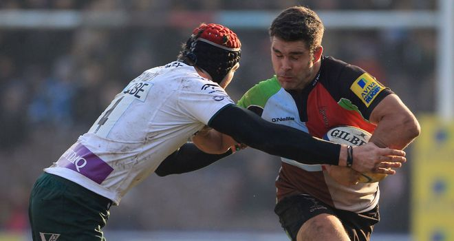 Nick Easter: Inspired Harlequins to victory over Exiles