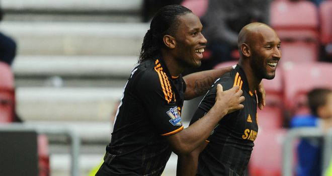 Drogba and Anelka: Look set to stay at Shanghai Shenhua