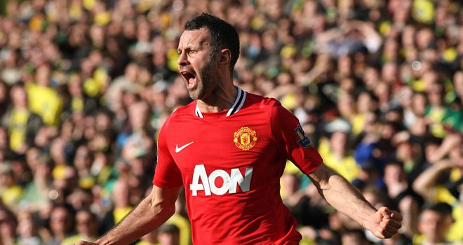 Ryan Giggs: Welsh midfielder aiming to win his 13th Premier League title with Manchester United