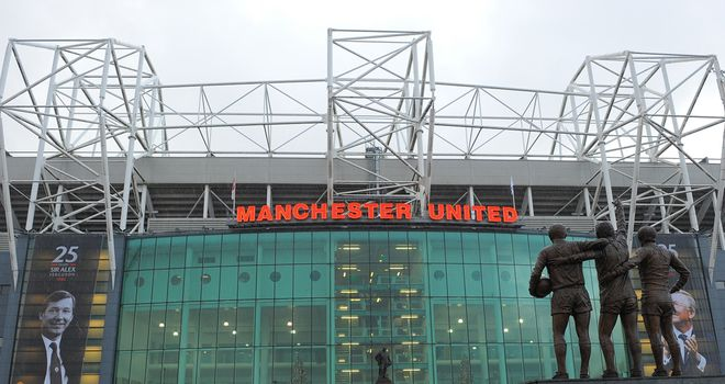 Old Trafford: Manchester United will start New York stock flotation on Friday
