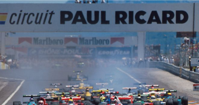 Paul Ricard last hosted Formula One in 1990