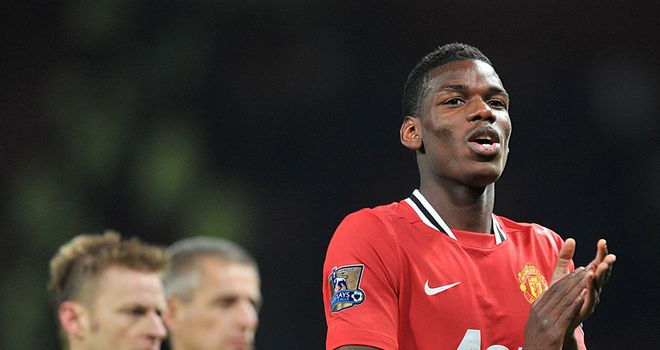 Paul Pogba: Teenage midfielder has agreed to sign a new contract at Manchester United