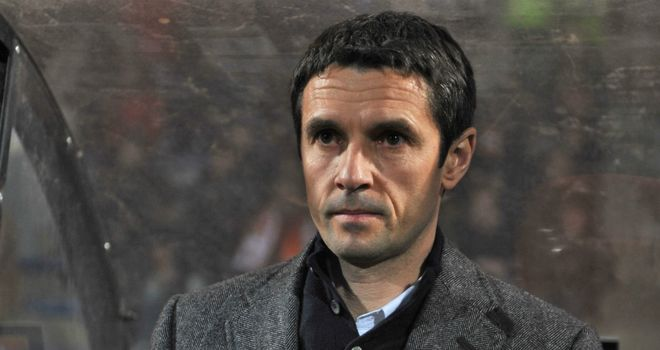 Remi Garde: Rotated his squad to give younger players chance to impress