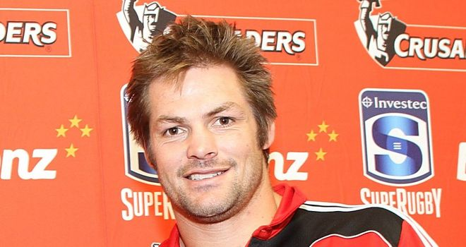 Richie McCaw: Hopes to return to action in April