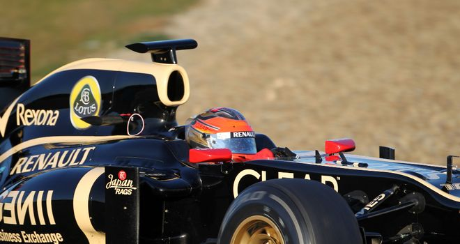 Lotus: Handed their E20 an encouraging debut at Jerez last week