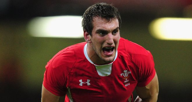 Sam Warburton: Undergoing a rigorous fitness test ahead of Saturday's clash