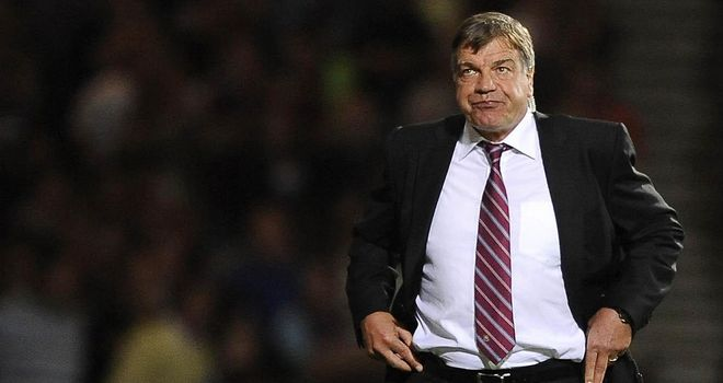 Sam Allardyce: West Ham United manager will hope to end a run of five home draws against Reading