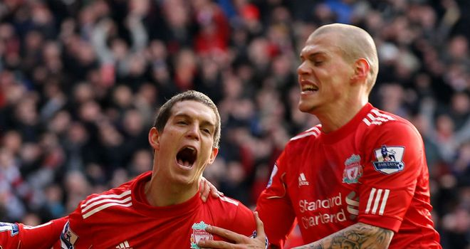 Agger and Skrtel: Keeper thinks they can match the achievments of Carragher and Hyypia.
