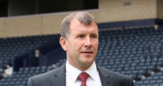 Stewart Regan: The Scottish FA chief executive is hoping to launch a joint-bid with Ireland and Wales