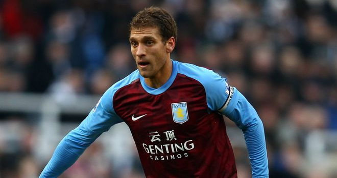 Stilyan Petrov: Will remain as Villa skipper as he battles leukaemia
