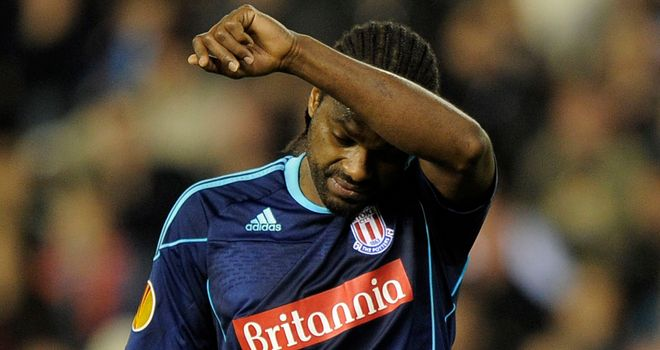Salif Diao: The Stoke midfielder is hoping to get a playing contract elsewhere after being told he would not feature for the club