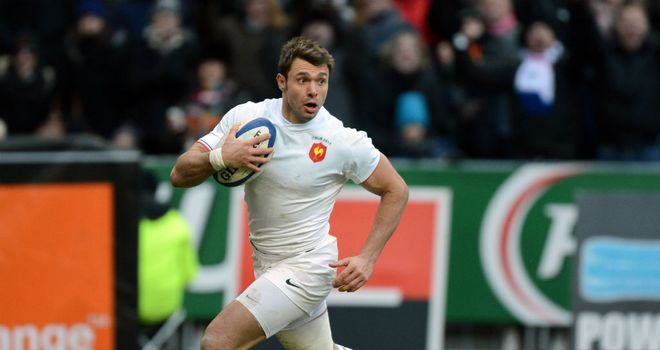 Clerc: Well backed to cross for a try in Paris against the Irish