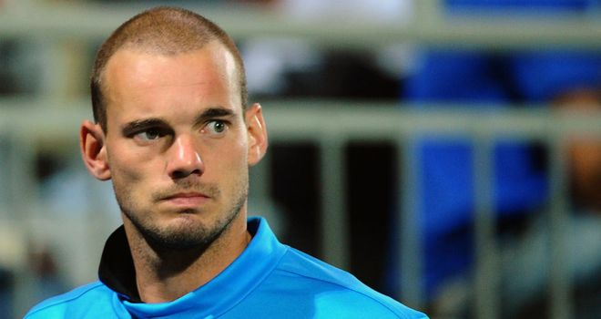 Wesley Sneijder: Thought to be valued at around £30million by Inter Milan