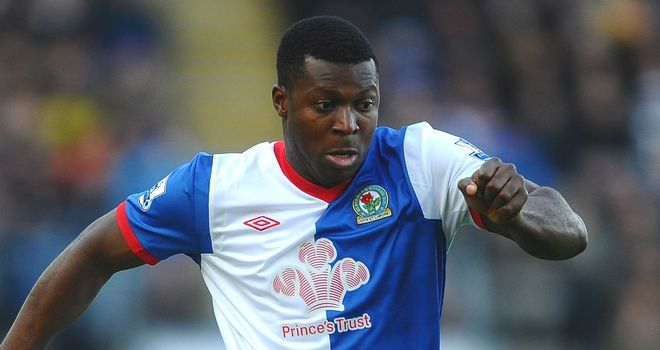 Yakubu Aiyegbeni: Determined to fire Blackburn to Premier League safety