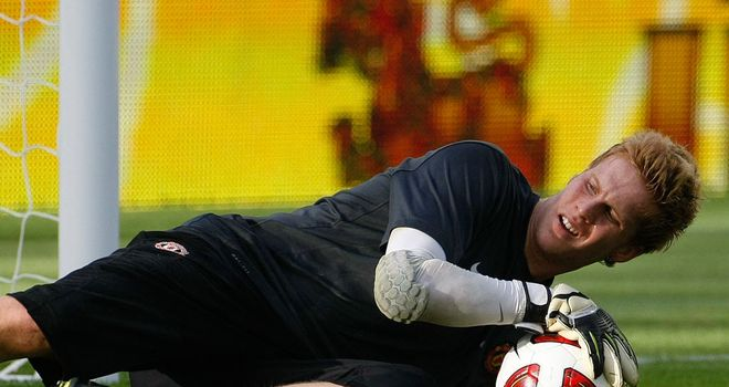 Ben Amos: Manchester United goalkeeper has joined Hull City on a season-long loan
