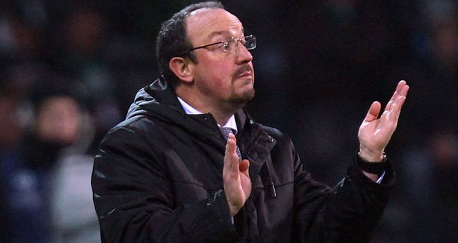 Rafa Benitez: Remaining coy on speculation linking him with the manager's job at Chelsea