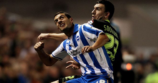 Gary Dicker: Brighton & Hove Albion midfielder is aiming to be fitter next season