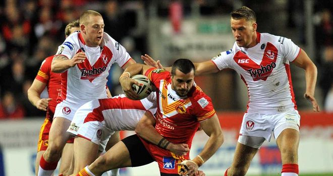 Vincent Duport: hat-trick for Dragons