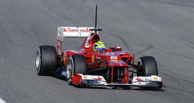 Felipe Massa: Ferrari driver completed 95 laps on day two of pre-season testing