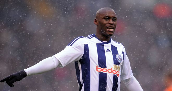 Marc-Antoine Fortune: West Brom striker is hoping to score more goals this season