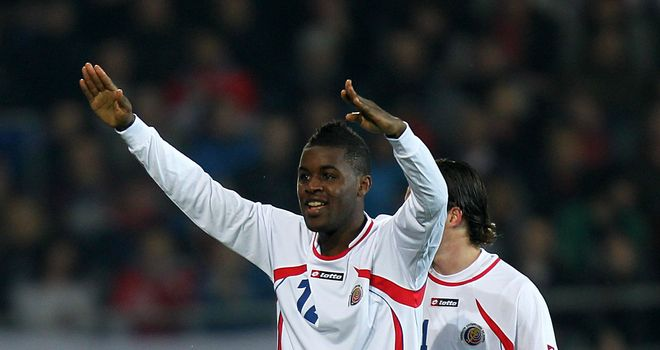 Joel Campbell: The Costa Rica forward is planning to break into the Arsenal first-team