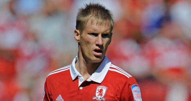 Tarmo Kink: Free agent after Middlesbrough cancelled his contract