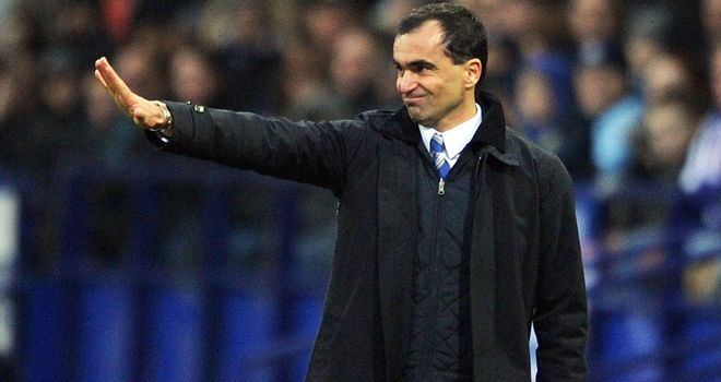 Roberto Martinez: Demanding a 'perfect' performance against West Brom on Saturday