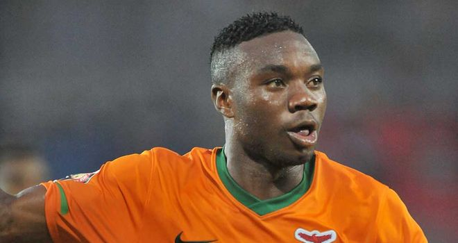 Emmanuel Mayuka: Scored winner to fire Zambia into final